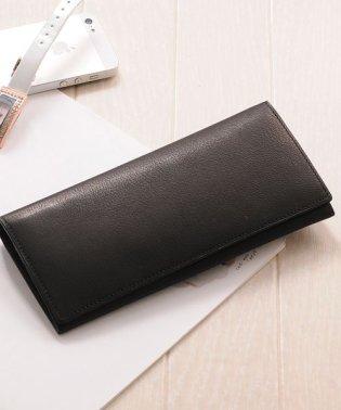 [PRAIRIE GINZA] キッドレザー 二つ折り長財布 日本製