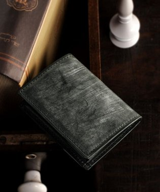 [PRAIRIE] ブライドルレザー BOX型 日本製 小銭入れ コインケース