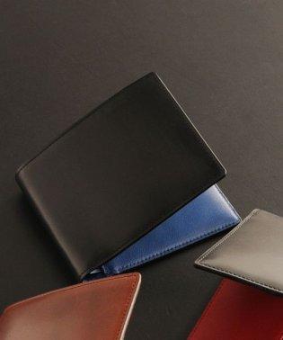 [PRAIRIE] コードバン 二つ折り財布  両カード