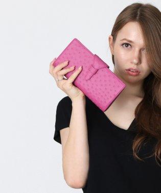 [mieno] オーストリッチレザーフォーマル財布
