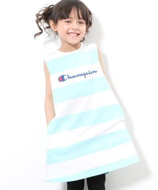【ROPE' PICNIC KIDS】【Champion】ボーダーワンピース