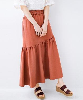 ふんわりシルエットが華やかな大人ギャザースカート