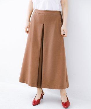 スカートのように見えて実は楽ちん!カットソーフレアーパンツ