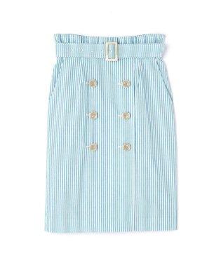 ◆マリンストライプトレンチスカート