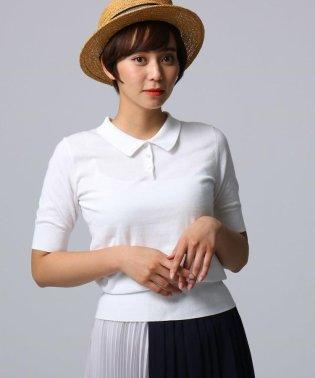 【洗える】スヴィンコットン ポロ衿シャツ