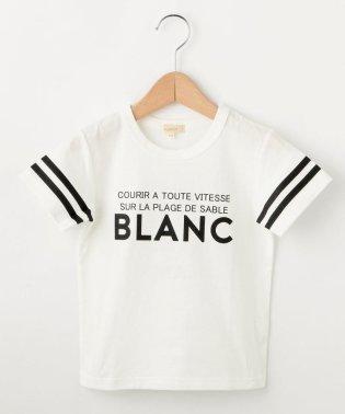 【90-150cm】カラーロゴTシャツ