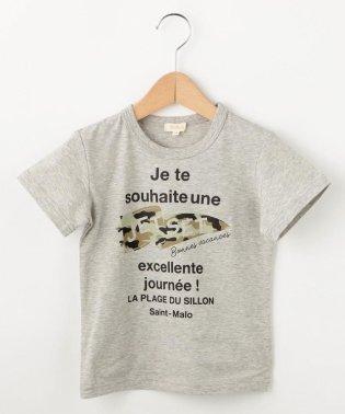 【90-140cm】フラッグTシャツ