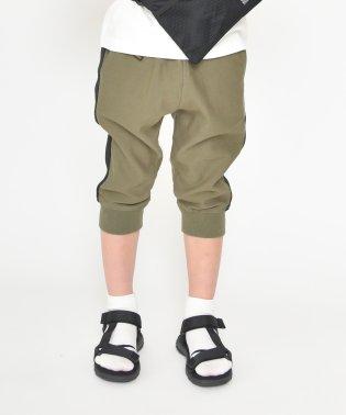 サイドラインデザインクロップドパンツ(80~150cm)