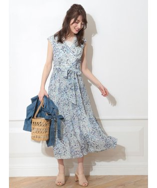 【MAGASEEK/d fashion限定カラー】楊柳プリーツワンピース