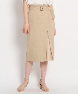 ガーデンツイルプリーツラップスカート