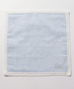 フラワー刺繍ハンカチ