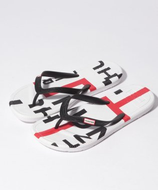 WOMENS EXPLODED LOGO FLIP FLOP