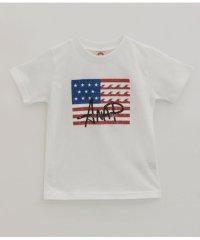USAフラッグプリントTEE