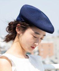 【KANGOL】メッシュハンチングベレー帽