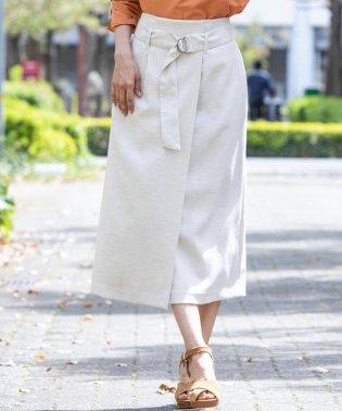 【TV着用】【雑誌掲載】リスタビュールベルト付きタイトスカート