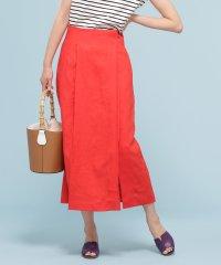 【steady. 6月号掲載】フレンチリネンラップ風スカート
