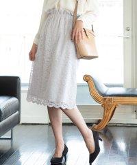 【WEB限定】レースタイトスカート