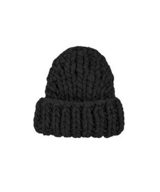 チャンキーニット帽