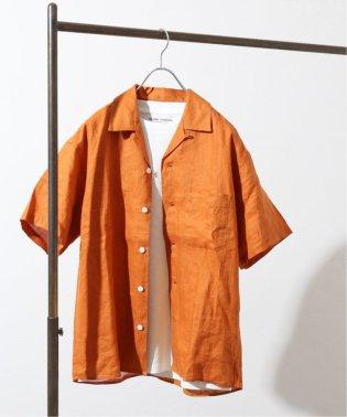 【french linen】ドビーオープンカラーシャツ