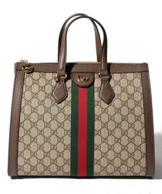【GUCCI】2WAYハンドバッグ / OPHIDIA 【BEIGE/EBONY+BE.RED】