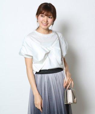 GRANDTABLE(グランターブル) リボンデザインTシャツ