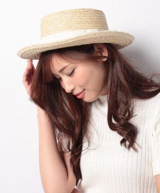 チュールレースカンカン帽