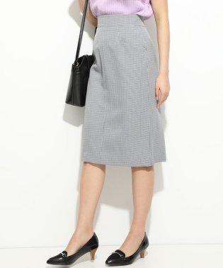 フロントL字ポケットタイトスカート