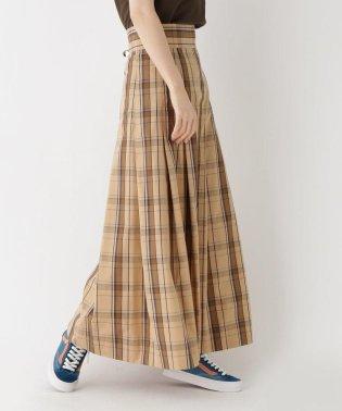 Scye(サイ)チェックフレアスカート