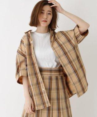 Scye(サイ)オーバーサイズ チェックシャツ
