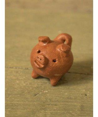 【チャイハネ】幸運のお守り 3本足の豚 チリラッキーピッグ ミニ
