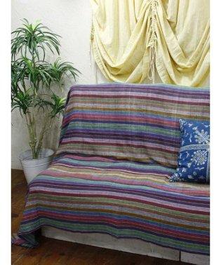 【チャイハネ】虹色ベッドカバー シングルサイズ