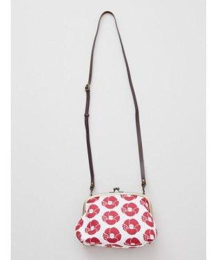 【カヤ】和花ふくれ織りがま口ポシェット ミニショルダーバッグ