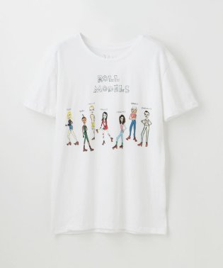 【U.P.(Unfortunate Portrait)】WOMEN Tシャツ ROLL MODELS