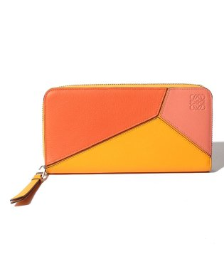 【LOEWE】ラウンドジップ長財布/PUZZLE ZIP AROUND WALLET【ORANGE/MANDARIN】