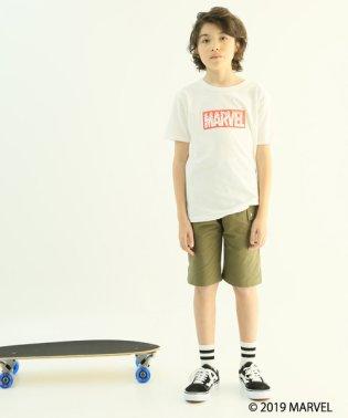 【MARVELコラボ】ボックスロゴ半袖Tシャツ