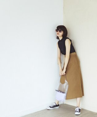 【EMMEL REFINES】〔ハンドウォッシャブル〕SMF H/W LI Wタックマキシスカート 2