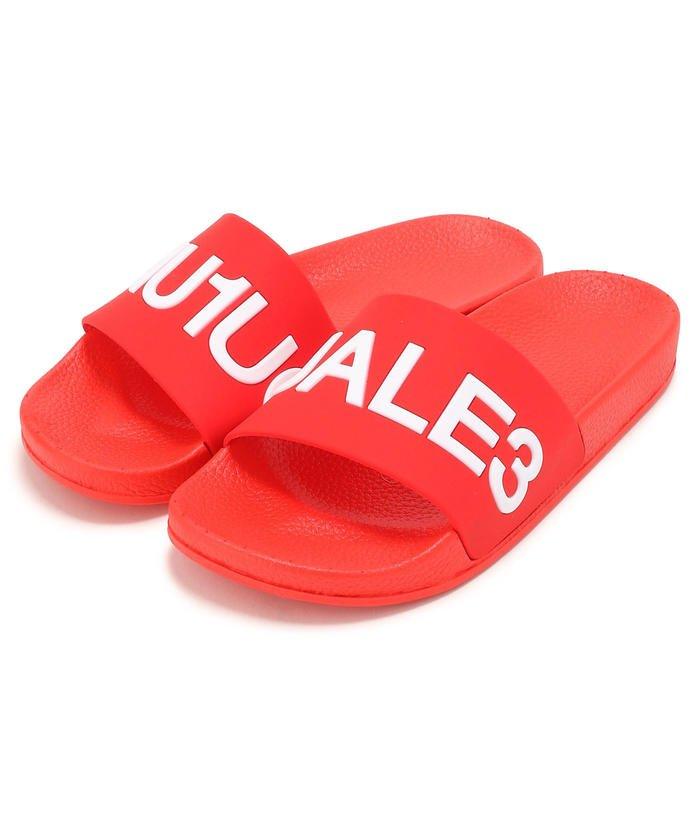 (RoyalFlash/ロイヤルフラッシュ)1PIU1UGUALE3 RELAX/ウノピゥ ウノ ウグァーレ トレ リラックス/シャワーサンダル/メンズ RED