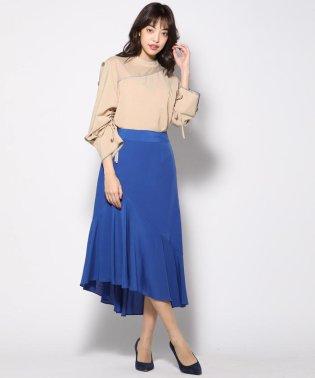 ≪大きいサイズ≫テンセルデシンイレギュラースカート
