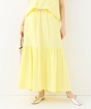 【Ujoh】GATHERED MAXI スカート