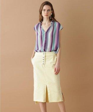 【TV着用】スリットタイトスカート