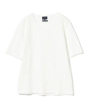 BEAMS / タチキリスラブ Vネック Tシャツ