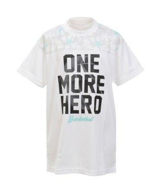 エスエーギア/キッズ/ジュニア半袖TシャツONE MORE HERO