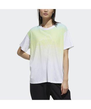 アディダス/レディス/W S2S 半袖 グラデーション Tシャツ