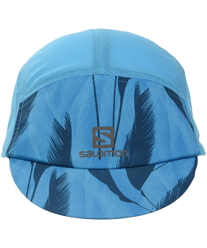 サロモン/キッズ/HEADWEAR AIR LOGO CAP BLITHE/POSEIDON