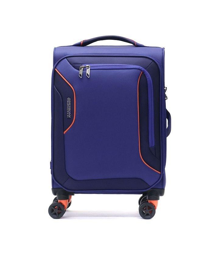 (AMERICAN TOURISTER/アメリカンツーリスター)【日本正規品】サムソナイト アメリカンツーリスター スーツケース AMERICAN TOURISTER 機内持ち込み 38L DB7−002/ユニセックス ブルー