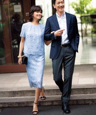 【マガジン掲載】エアリーレース スカラップスカート(検索番号F24)