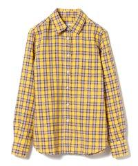 ORIAN / MINI リネンコットン チェックシャツ