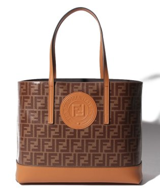 【FENDI】トートバッグ/SHOPPER SHOPPING BAG 【MOGANO CARAMEL】