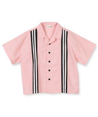 ライン切り替え半袖シャツ