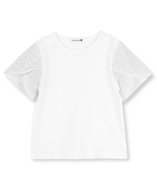 袖レース半袖Tシャツ(80~150cm)